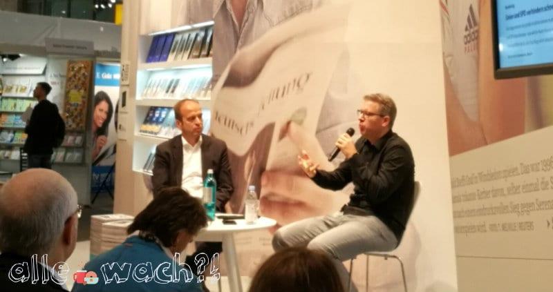 Frank Thelen auf der Buchmesse 2018