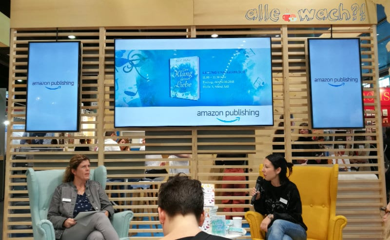 Noa C. Walker auf der Buchmesse 2018