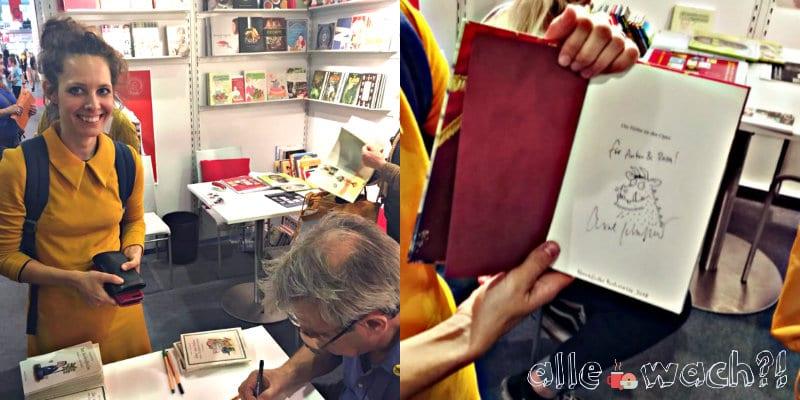 Signatur mit Original Grüffelo von Axel Scheffler