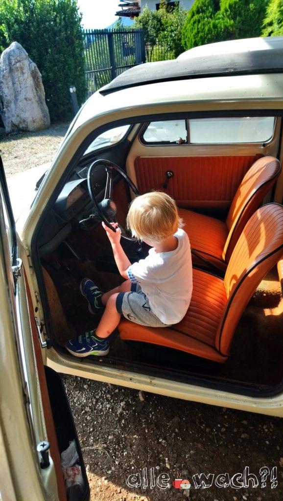 Fiat500 - Italien mit Kinder