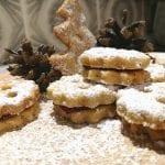 Rezept für Linzer Plätzchen mit Haselnüssen und Mandeln