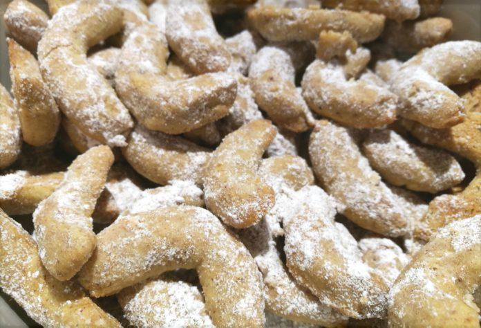 Rezept Vanillekipferl Mandeln und Haselnüsse