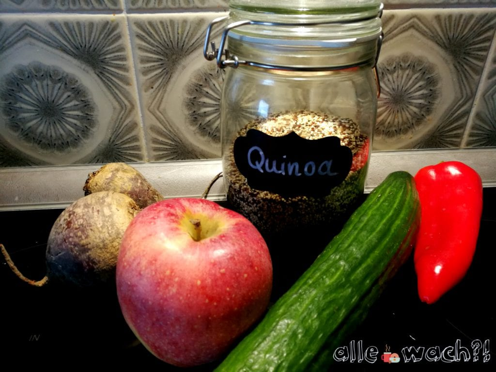 Zutaten Rote Bete Quinoa Salat