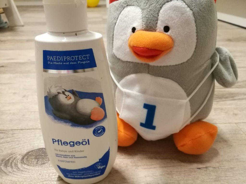 Die PAEDIPROTECT Produktprobe Pflegeöl