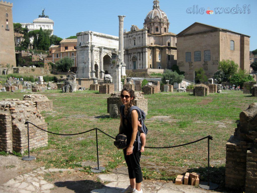 Forum Romanum mit Kindern