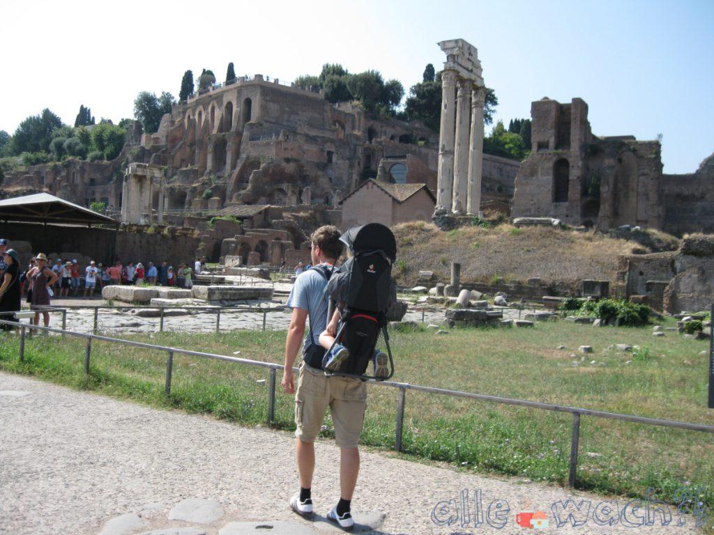 Rom mit Kindern: Forum Romanum
