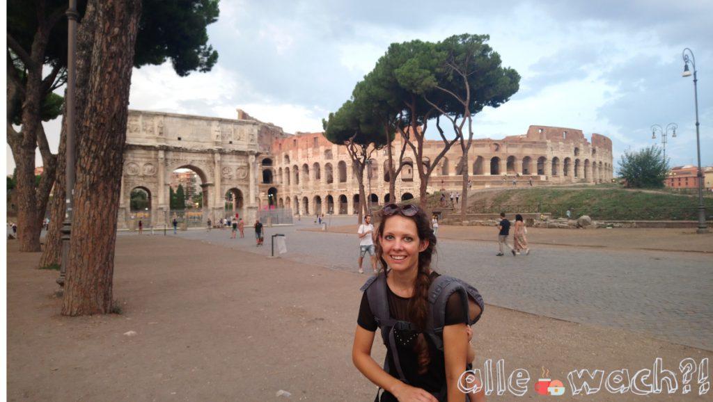 Rom mit Kindern: Colosseum von außen