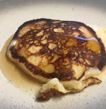 Perfekte Buttermilch Pancakes