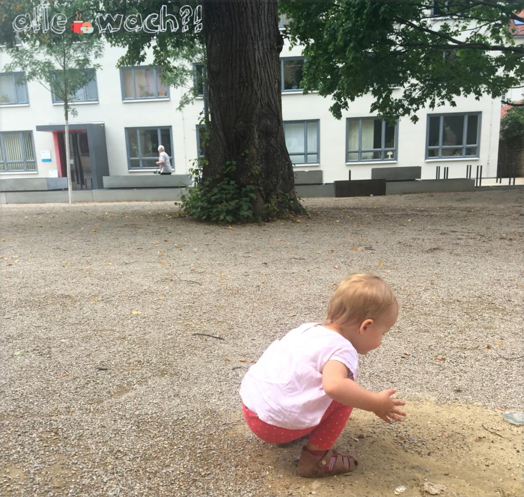 Bauhaus Univrsität Weimar mit Kindern