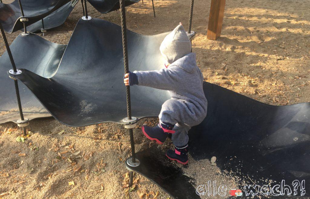 Spielplatz Bastion Dresden für kleine und große Kinder geeignet