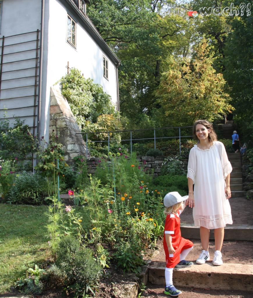 Goethes Gartenhaus Weimar mit Kindern