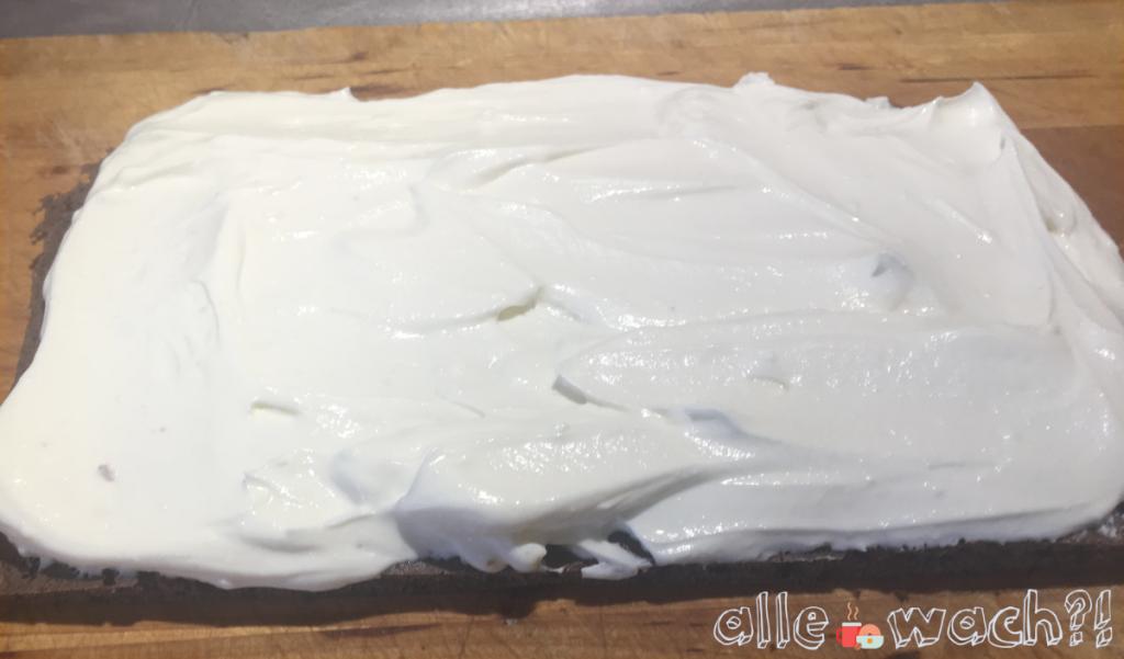 Creme für selbsgemachte Milchschnitte mit Quark