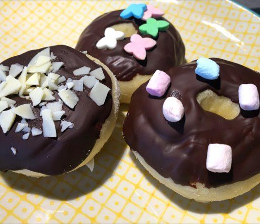 Mini Donuts aus dem Backofen