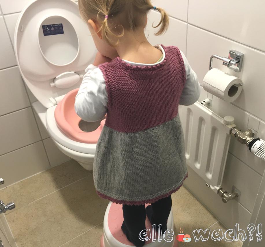 Toilettensitz und Hocker von Bumbo für erstes Toilettentraining